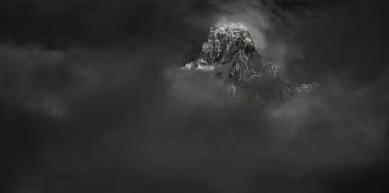 A picture from Jirishanca, Cordillera Huayhuash, Andes by Michi Wohlleben