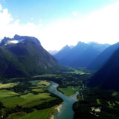 Romsdalsfjella by Sim Sim