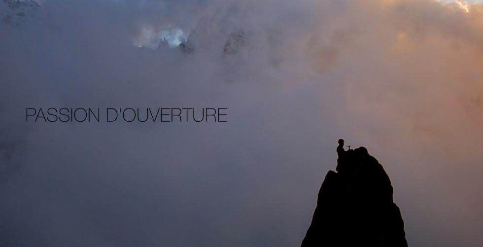 """""""PASSION D\'OUVERTURE"""" Michel Piola in Chamonix"""