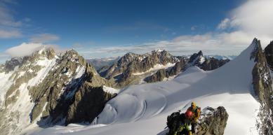 A picture from Chamonix by Nico Cox