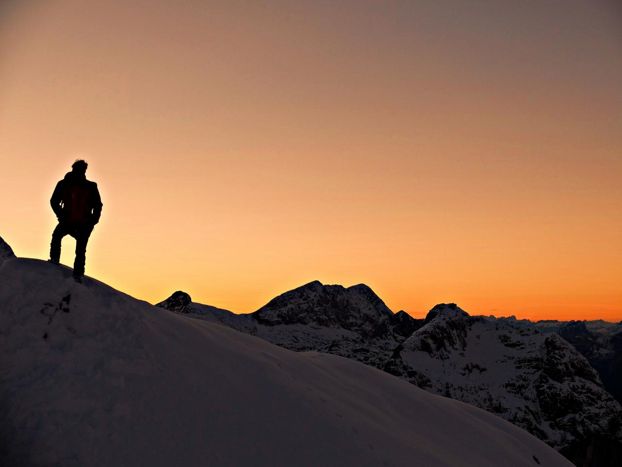 A picture from sella nevea by Piussi Andrea