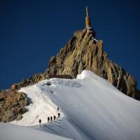 Aiguille du Midi by Leo Santiago