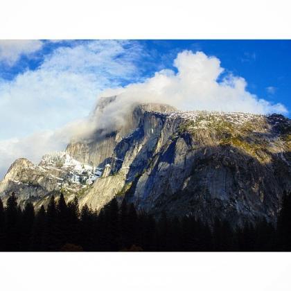 Half Dome, Yosemite Valley by Reed Gustavsen