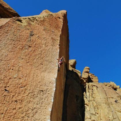 Smith Rock by Jennifer Slater