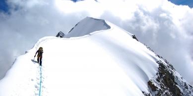 A picture from Piz Bernina by Juraj Manduch