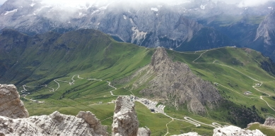 A picture from Dolomites by Letizia Antonielli