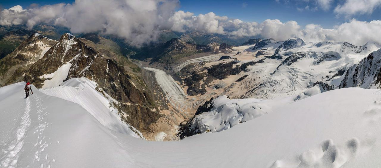 A picture from Piz Bernina by Jozef Ďuronka