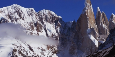 A picture from Cerro Torre by Atila Barros
