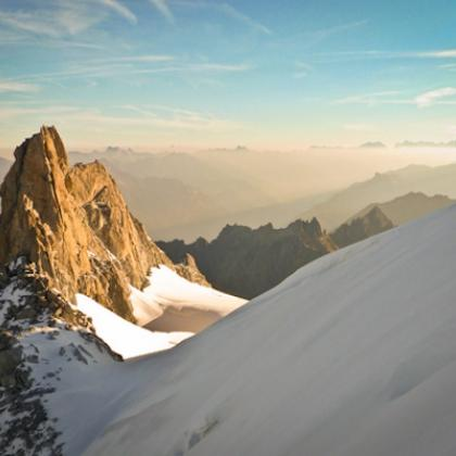 Aiguille du Tour, Arete de la Table by Benoit Ménager