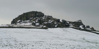 A picture from Almscliffe Crag by Charlotte Evans