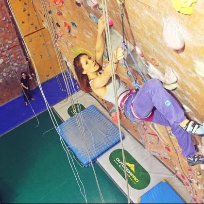 Zerwa, climbing gym by Dawid Zatonski