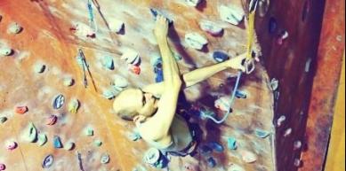 A picture from Zerwa, climbing gym by Dawid Zatonski