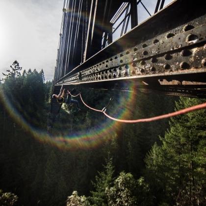 Old railway bridge Goldstream by Peruzzo PRZ