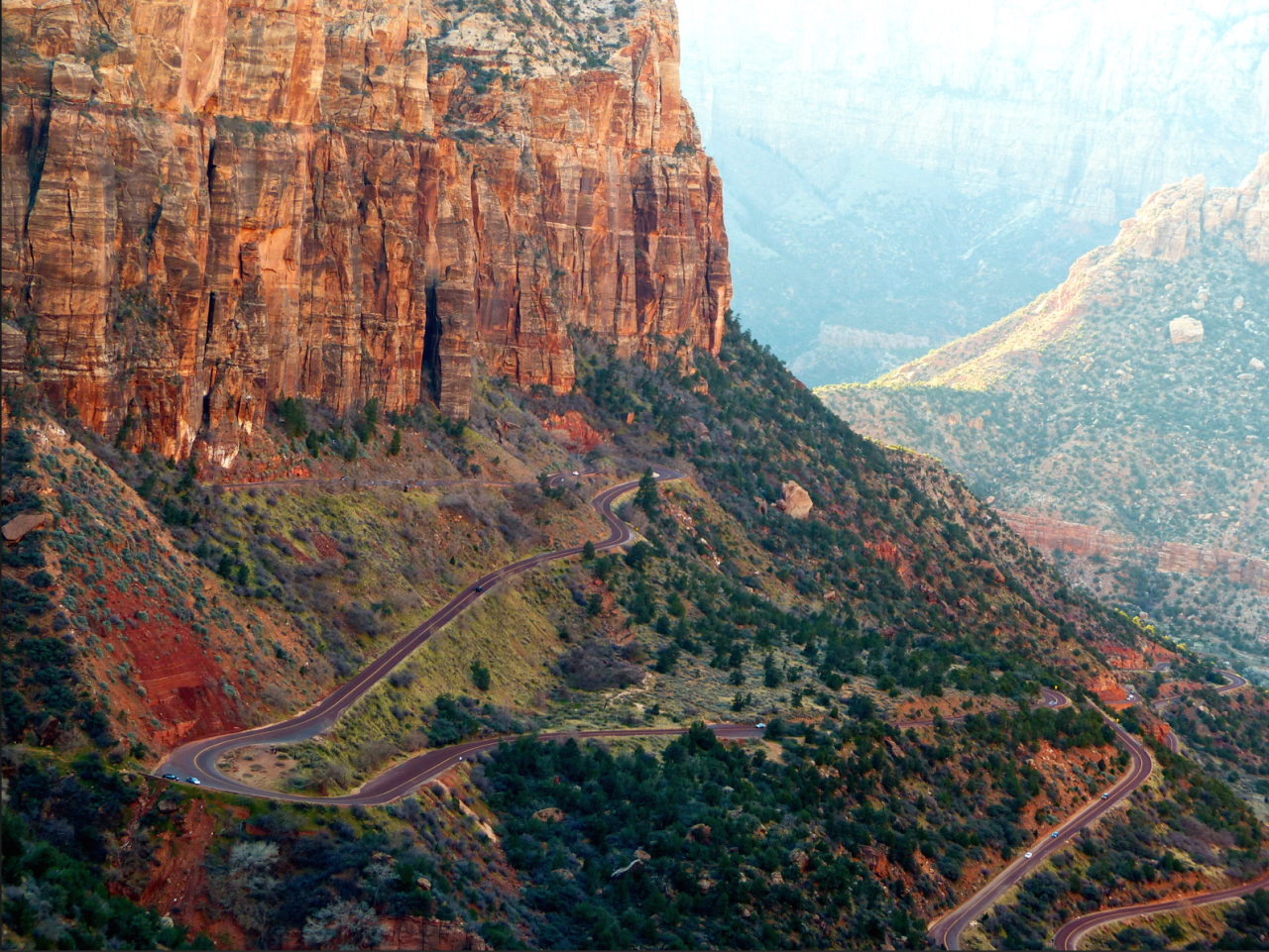 A picture from Zion National Park by Nicolas Evrard
