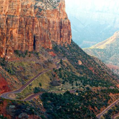 Zion National Park by Nicolas Evrard