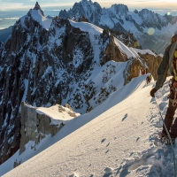 Aiguille du Plan by Quentin Coster