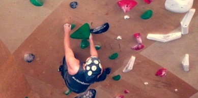 A picture from Brooklyn Boulders Chicago by Matt Moy