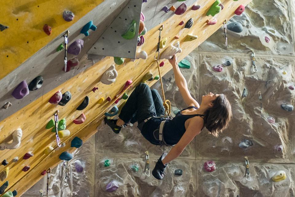 A picture from Tarnogaj Wroclaw Climbing Gym by Wojciech Komada