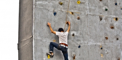 A picture from Ibex Club Climbing Arena by Zakee Kazmee