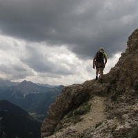 Ciavazes, Dolomites by Piero Cena