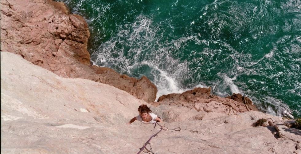 climbing in finale in Capo Noli