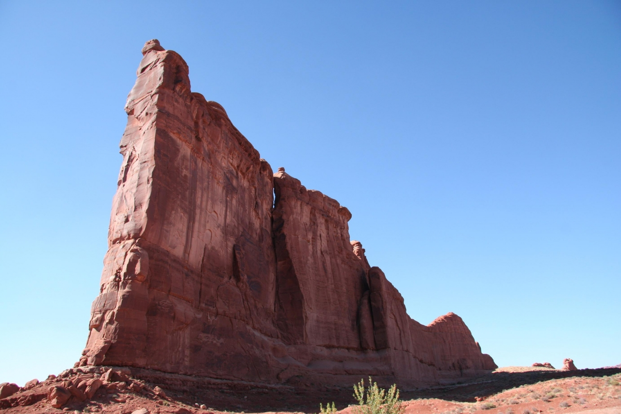 A picture from Arches National Park by Wulfran Quairel