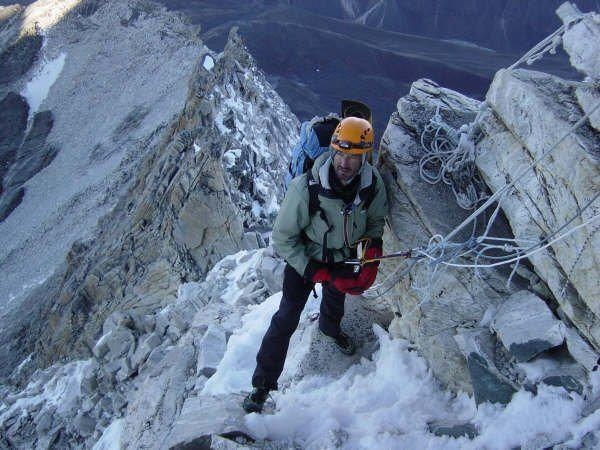 A picture from Ama Dablam by Antonio Coelho