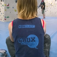 Crux Bouldergym by Linde Boelen