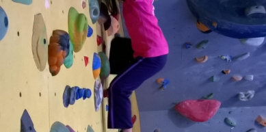 A picture from New Rock Climbing Gym by Geraldine Doumont