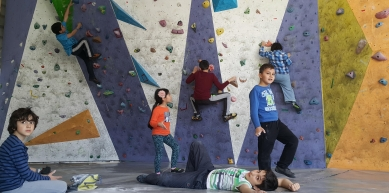 Boulder Town - ժայռամագլցման մարզադահլիճ / climbing gym