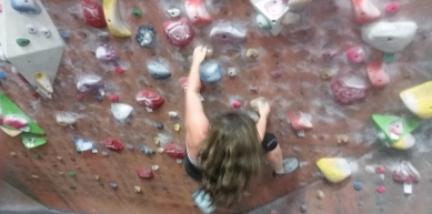 A picture from Momentum Indoor Climbing, Sandy, UT by Diana Martirosova