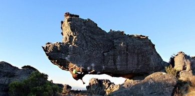 A picture from Rocklands by Bruno Graciano