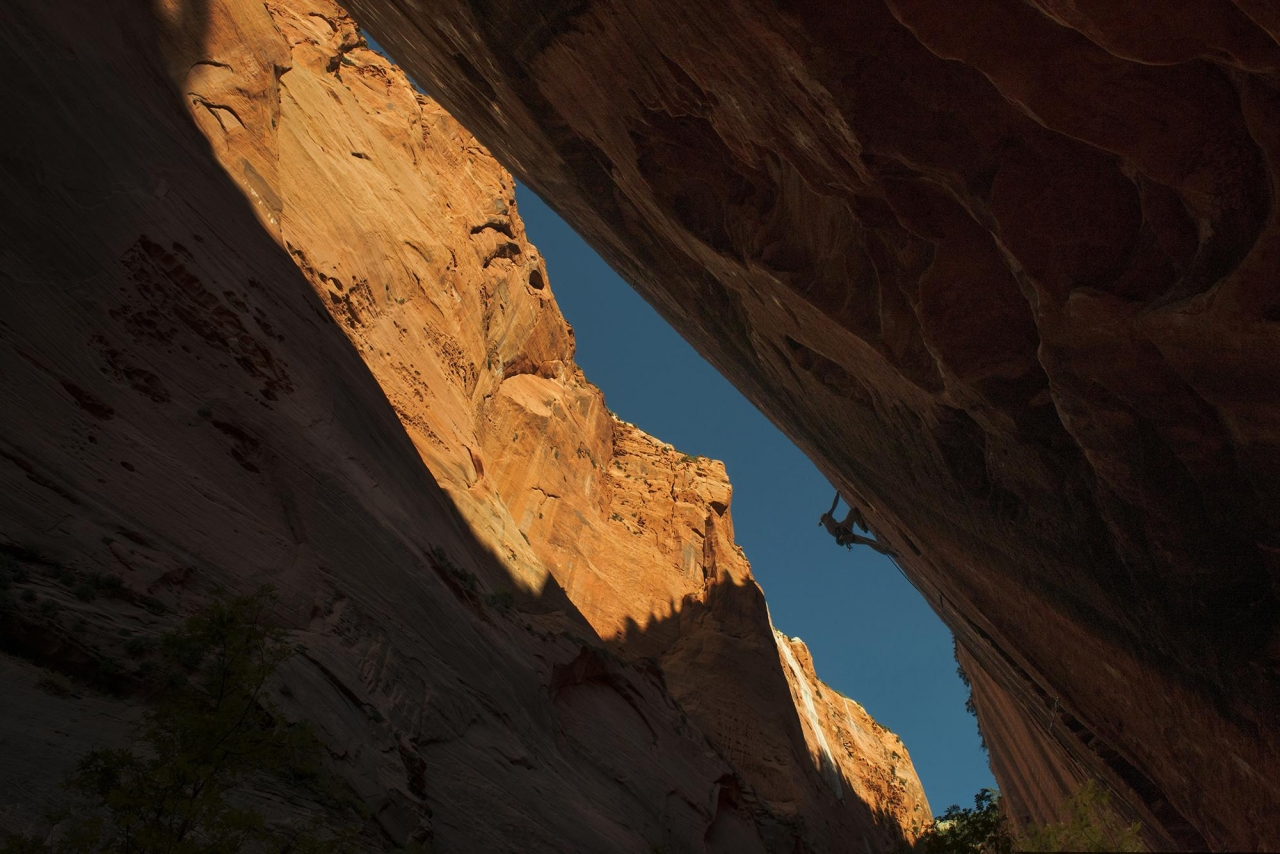 A picture from Zion National Park by Edelrid