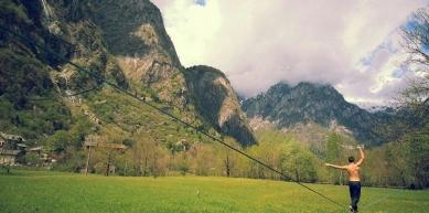 A picture from Val di Mello by Andrea Agostini