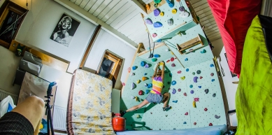 A picture from Leeuwarden Home Boulders by Lepyruvate Outdoor