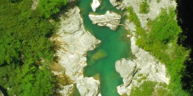 A picture from Gorges du Verdon by Crescendo escalade