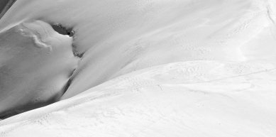 A picture from Aiguille du Midi by Björn Pohl