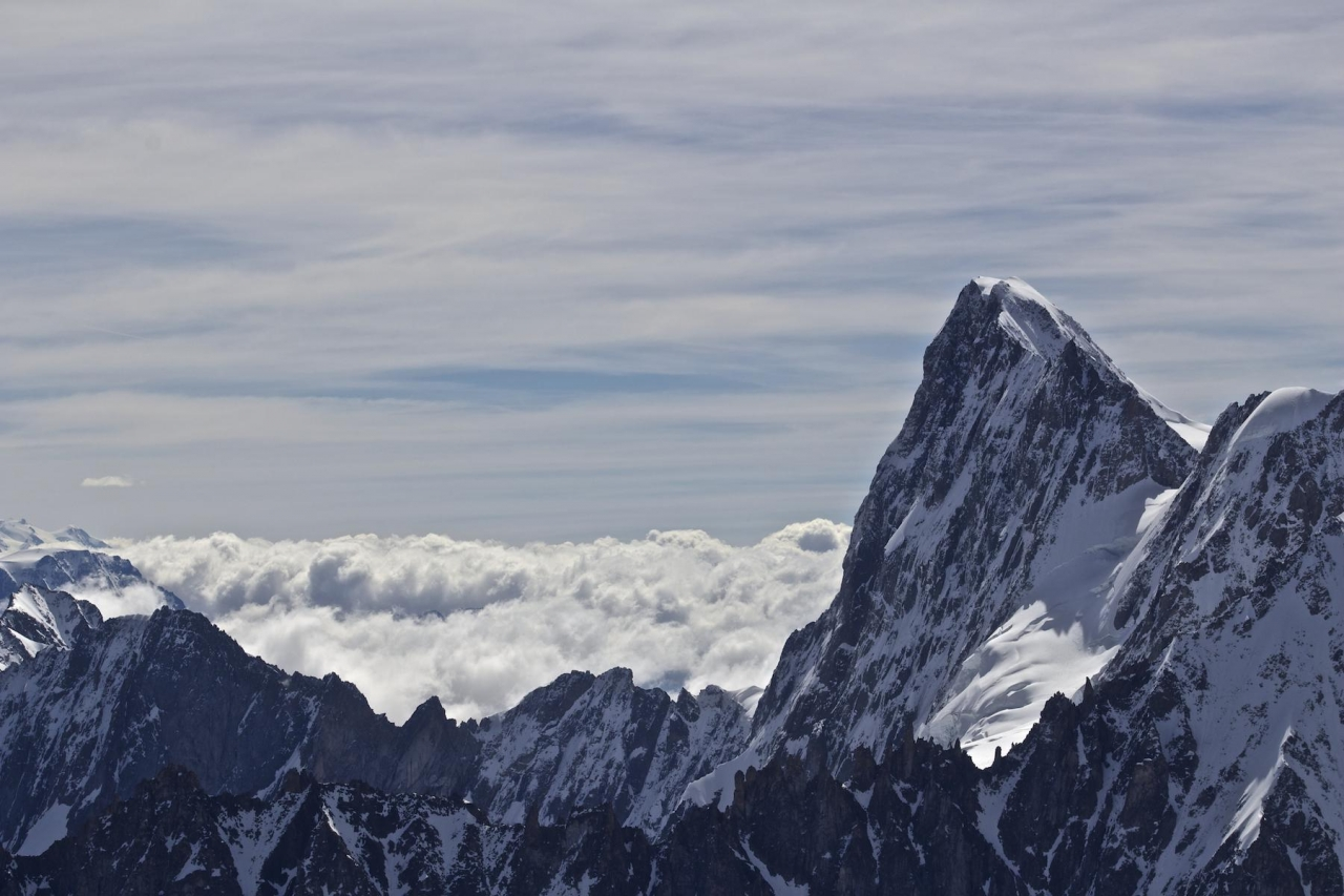 A picture from Grandes Jorasses by Björn Pohl