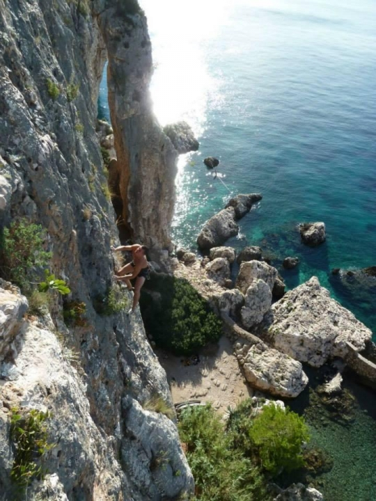 A picture from cliffbase by Zuzana Jargasova