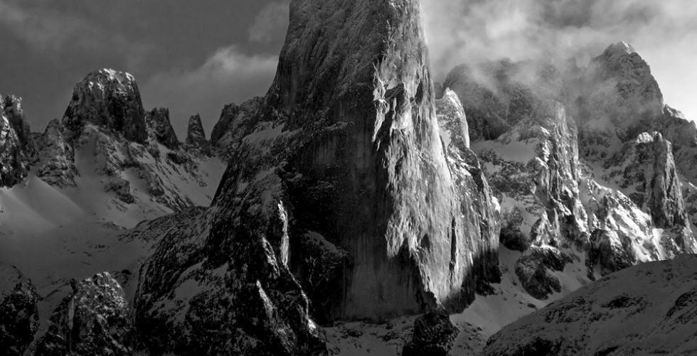 Urriellu peak in Picos de Europa