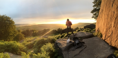 A picture from Stanage by Lianne Marie