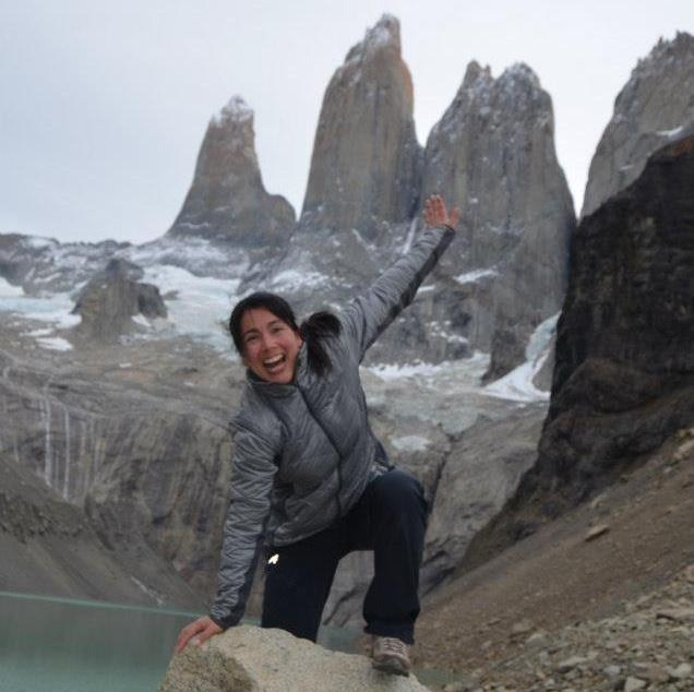 A picture from Torres del Paine by Amalia Villarroel