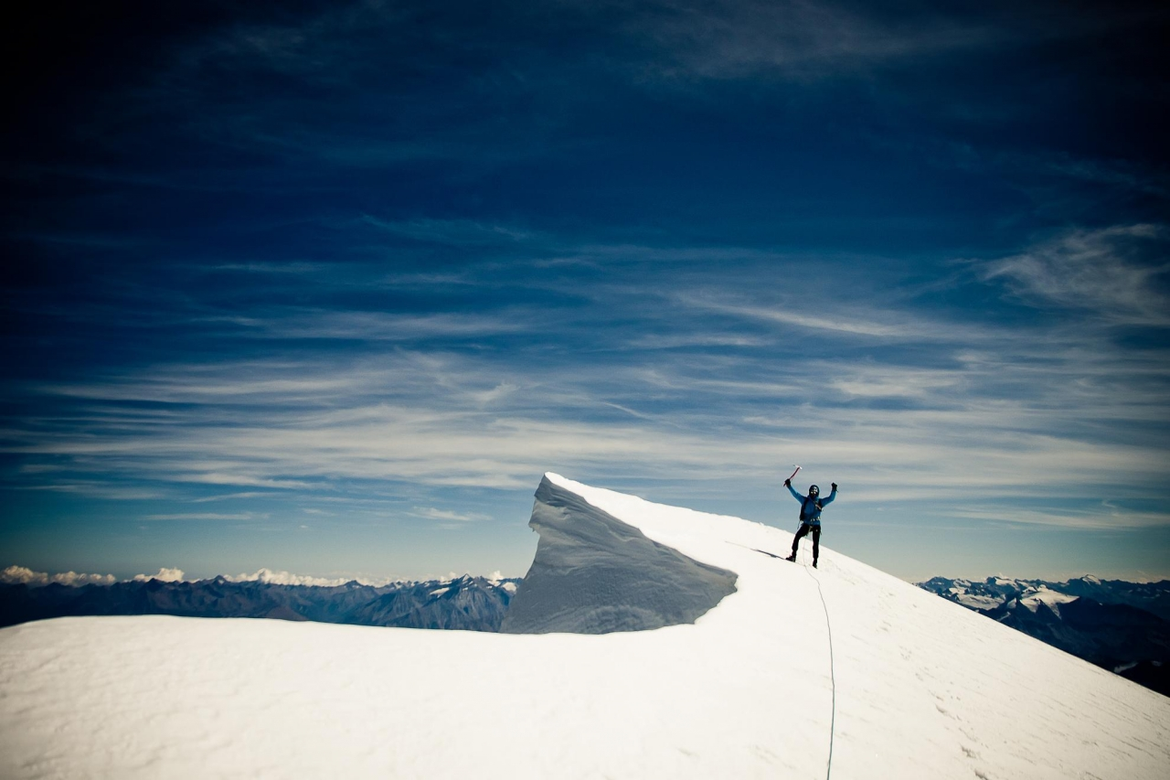 A picture from Mont Blanc du Tacul by Maciek Ostrowski