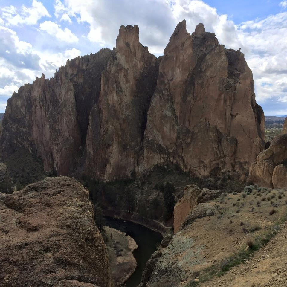 A picture from Smith Rock by Climb X Gear