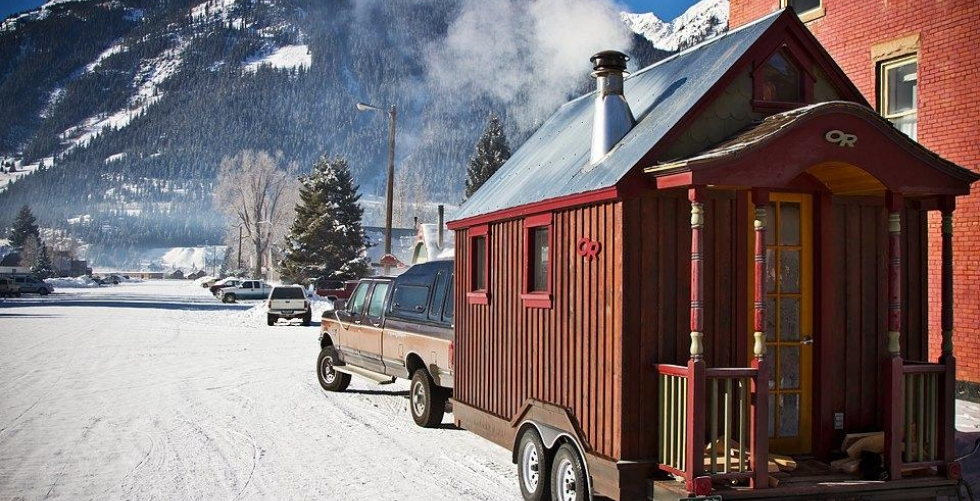 THE TINY HOUSE LIFE of ZACH AND MOLLY in Big Cottonwood Canyon