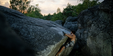 A picture from Fontainebleau by Remi Thiebault