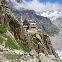 Envers des Aiguilles de Chamonix by Jelmer Bos