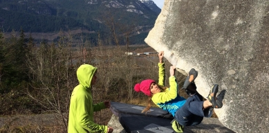 A picture from Squamish by Scarpa