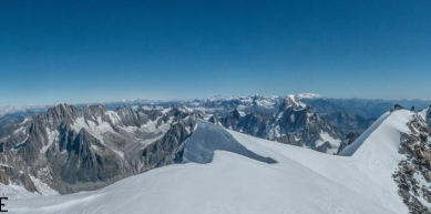 A picture from Chamonix by Fred Vionnet Grimpisme