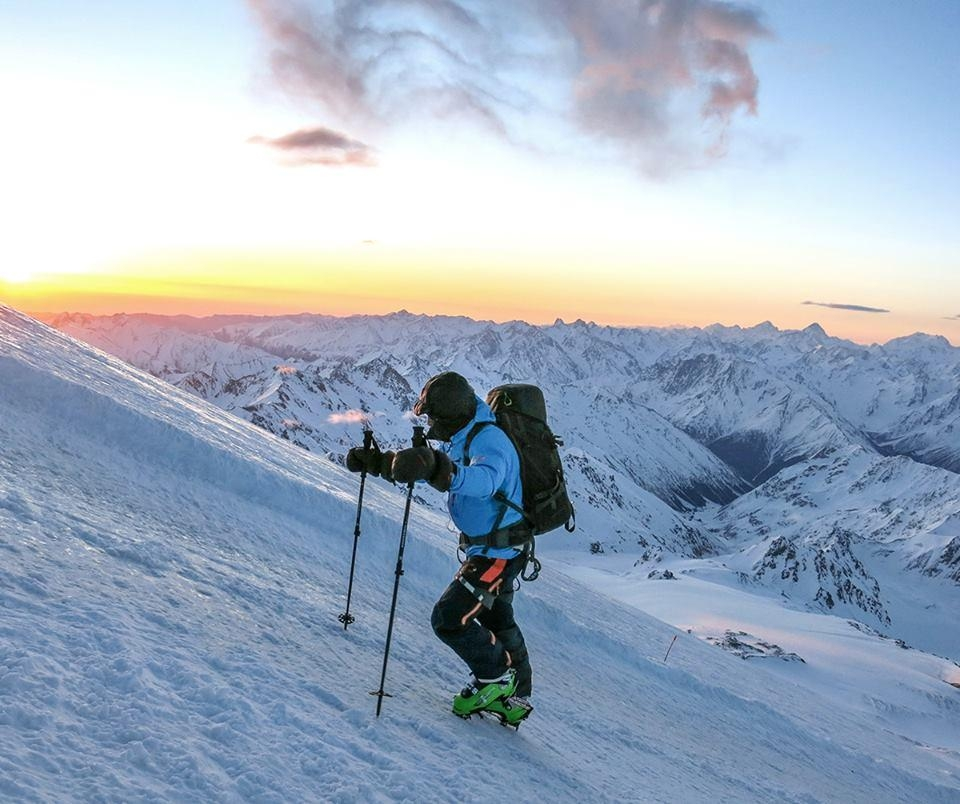 A picture from Mt Elbrus by Mammut